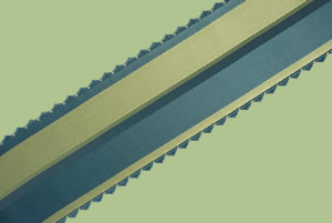 French Vintage Stripe Ribbon