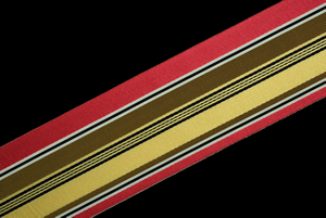 French Vintage Striped Ribbon